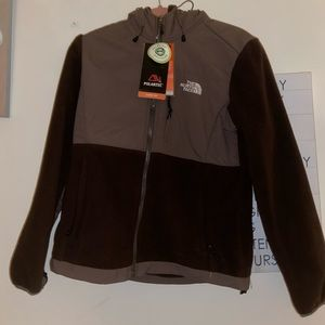 Brown North Face